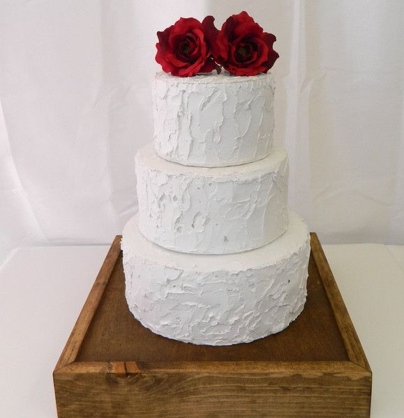 Rustic Wooden Cake Stand | Weddings and Events , Cake Stand - Gallery360 Designs, Gallery360 Designs  - 2