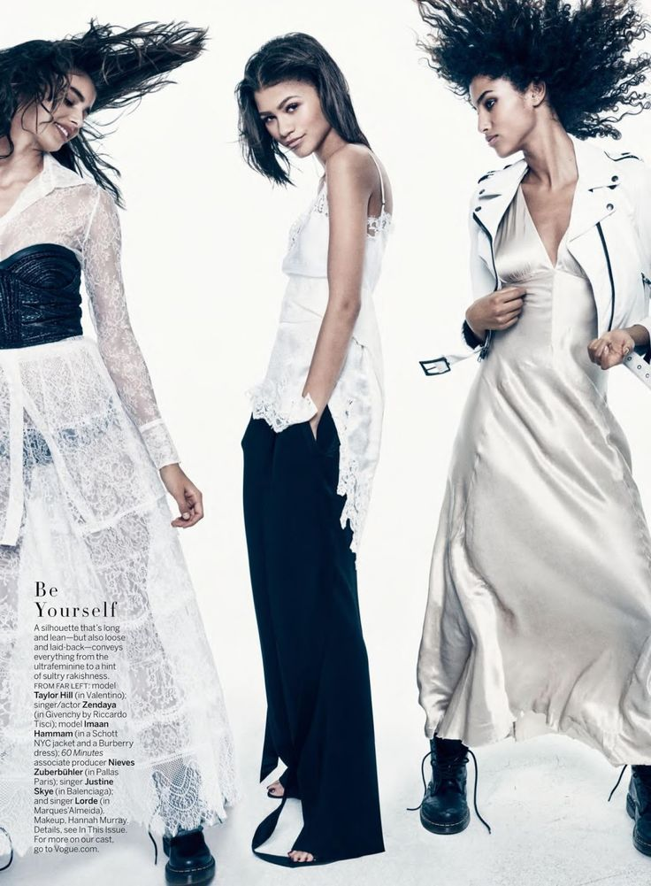 """""""Be Yourself"""" by Mikael Jansson for Vogue US January 2016"""