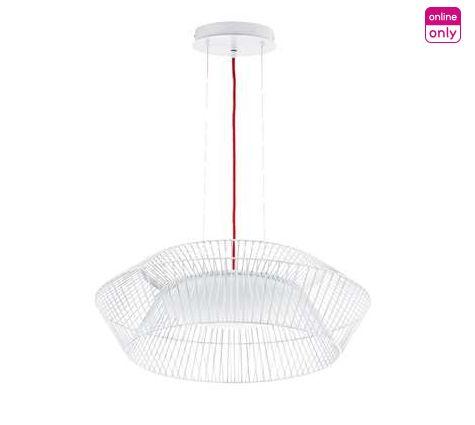 240 euros http://www.leenbakker.be/fr/accessoires-de-maison/luminaires/suspensions/eglo-suspension-led-piastre-blanche