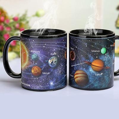 Solar System Color Changing Mug