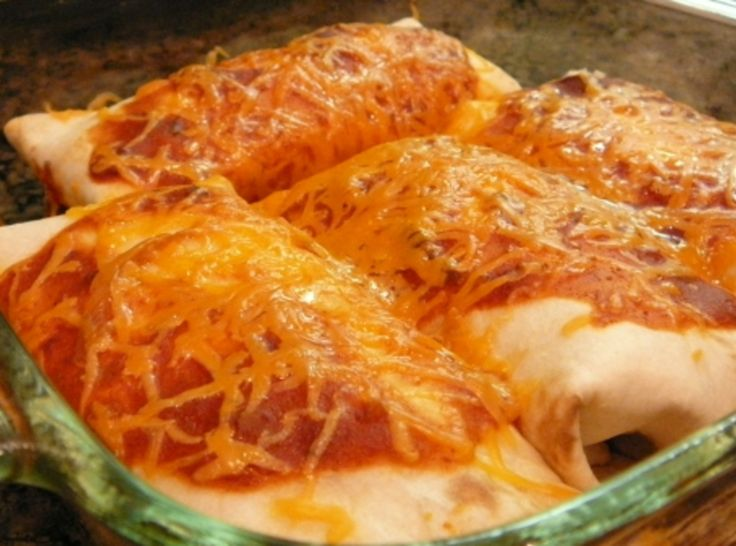 Easy Beef Enchiladas | Recipes I Want To try | Pinterest