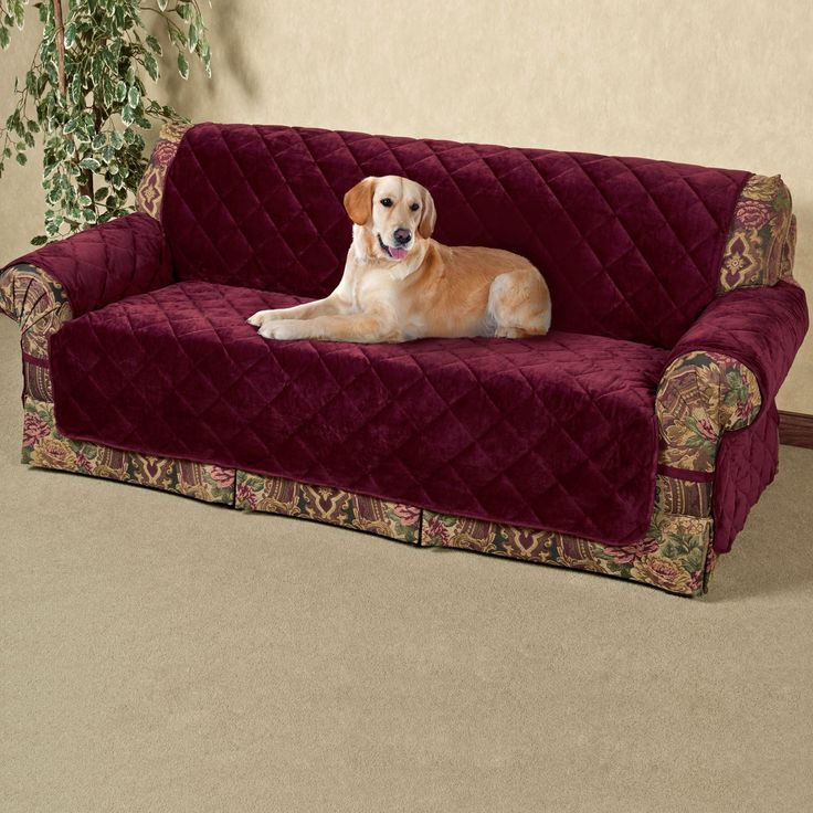 Ultimate Velvet Furniture Covers with Straps