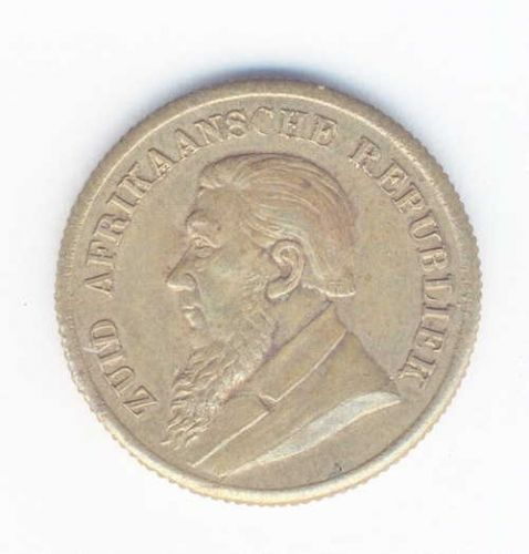 1896 Paul Kruger imitation sovereign