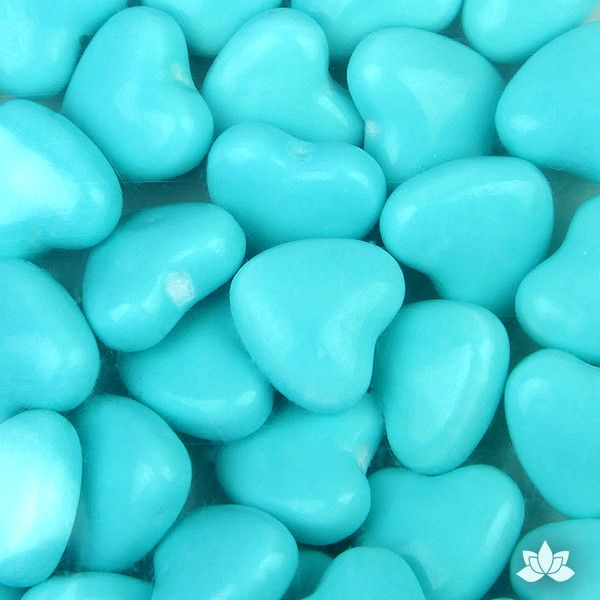Give your creations that finishing touch with these fun colorful Candy Hearts. Perfect for cupcakes, birthday cakes and cookies. A great way to decorate for any occasion. Carefully place them next to