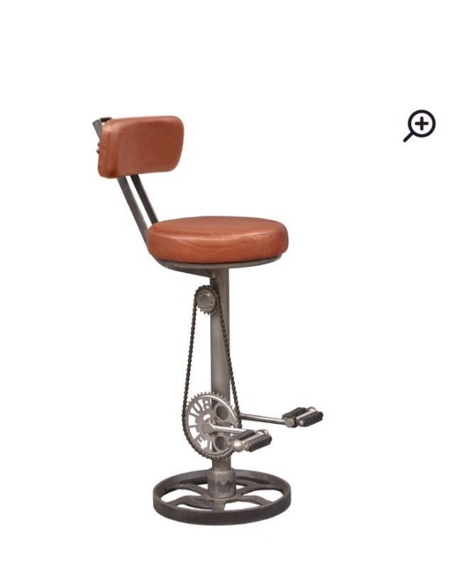 Highway To Home Kent Bicycle Bar Stool