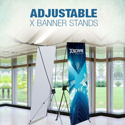 Order your X Banner Stands from BannerBuzz today. http://www.bannerbuzz.ca/x-banner-stands.html