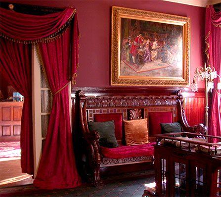 best 25 victorian curtains ideas on pinterest doorway curtain victorian decor and victorian. Black Bedroom Furniture Sets. Home Design Ideas