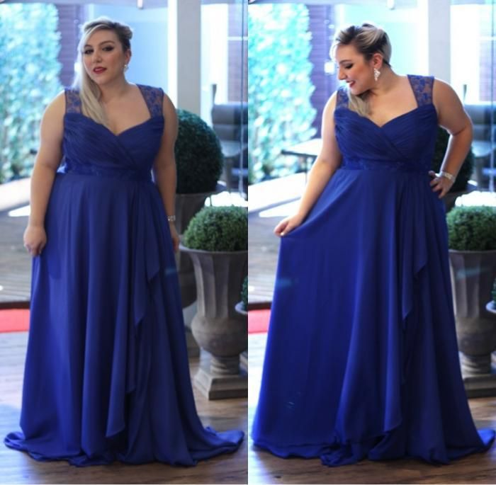 Plus Size Royal Blue Celebrity Prom Dress 2017 Sweetheart Sleeveless Hollow Formal Dresses Red Carpet Evening Bbd5653