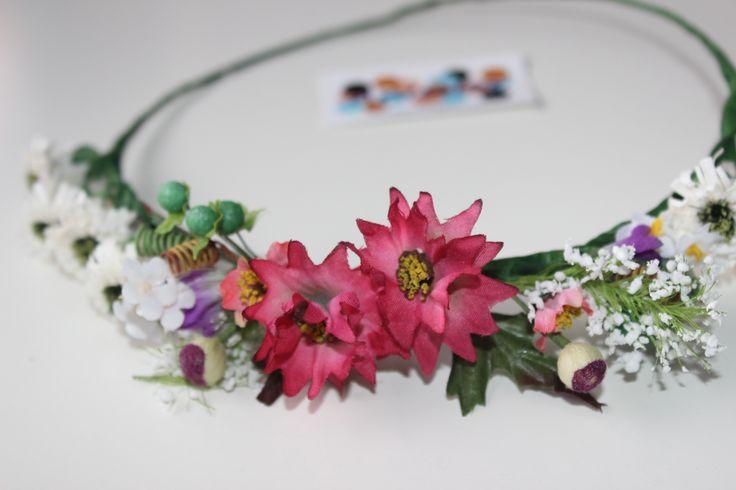 Diadema flor silvestre
