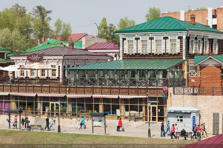 Красноярск (не моногород). регенерация 130 исторического квартала