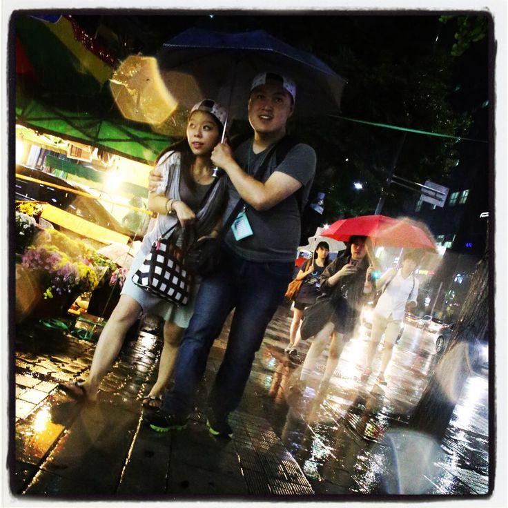 Monsoon season.