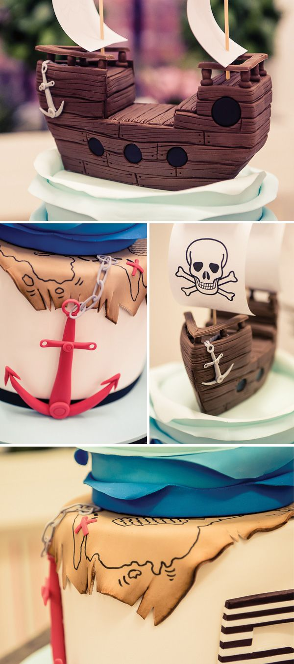 {Ship & Golden Treasure Inspired} AMAZING Pirate Party!