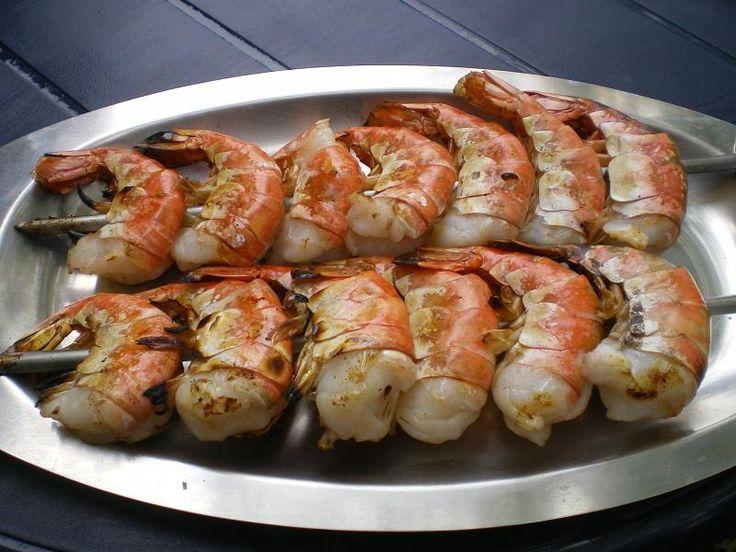 Rezept - Riesengarnelen vom Grill - Grillrezepte