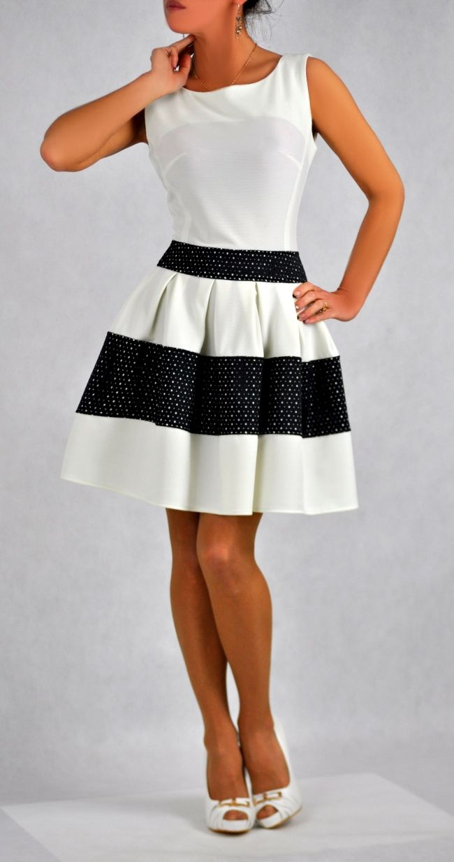 Feestelijke zomer jurk