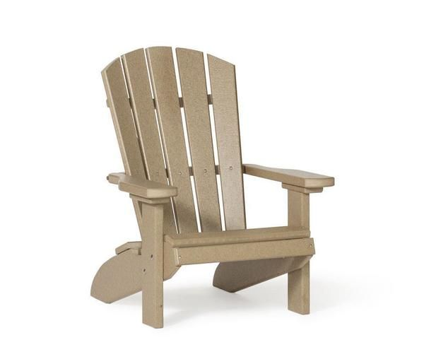 Amish Leisure Lawns Poly Kid S Fan Back Adirondack Chair