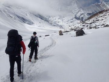 Trek to Annapurna Basecamp