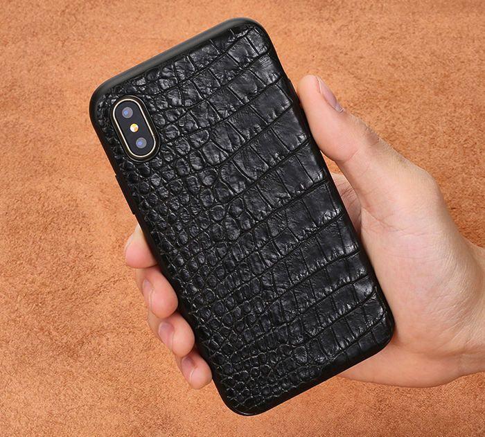 buy online b775f e7f7f iPhone X crocodile skin case | iPhone XS Max crocodile and alligator ...