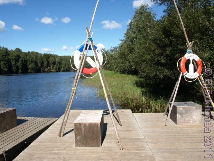 #Floßfahrt auf dem #Klarälv in #Munkfors (#Värmland, #Sweden)