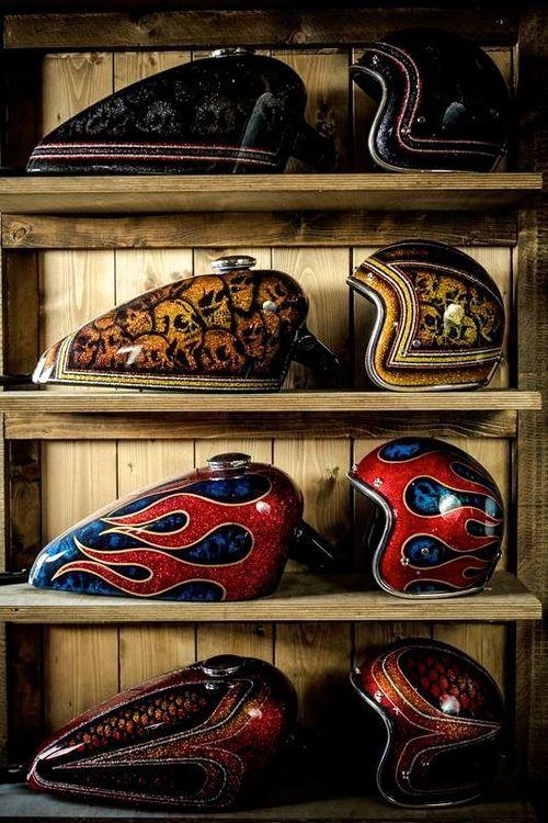 Assortir son casque à sa moto, avec surtout des design aussi beaux et raffinés on adhère, on adore ! Et vous qu'en pensez vous ? Adeptes de ce genre de styles pour votre #moto ?