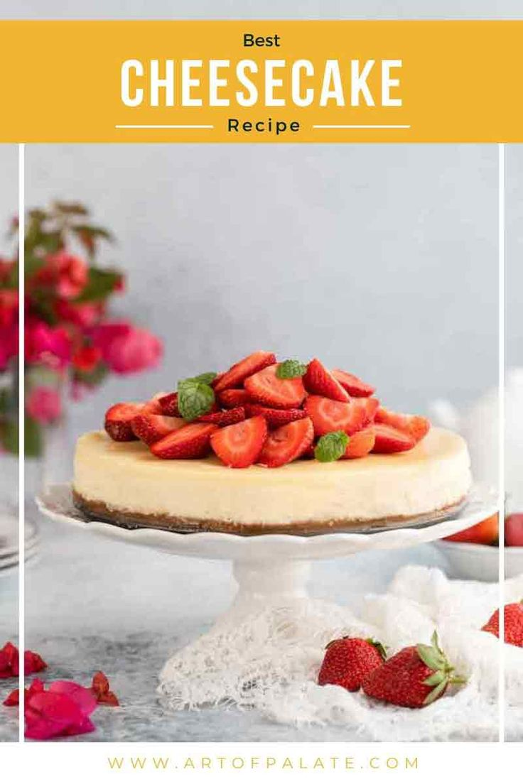 Jun 26, 2020 – This is one of the BEST CHEESECAKE RECIPE ever. It's very easy to make and is irresistible. Step by step…