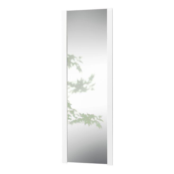 LoCa - Knax spejl (39cm) - hvid