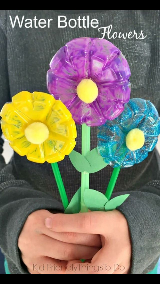 Spring summer recycle ♻️ themed craft idea