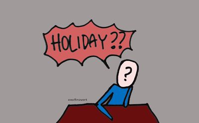Ex of Introvert: Great Ways To Fill Your Holiday