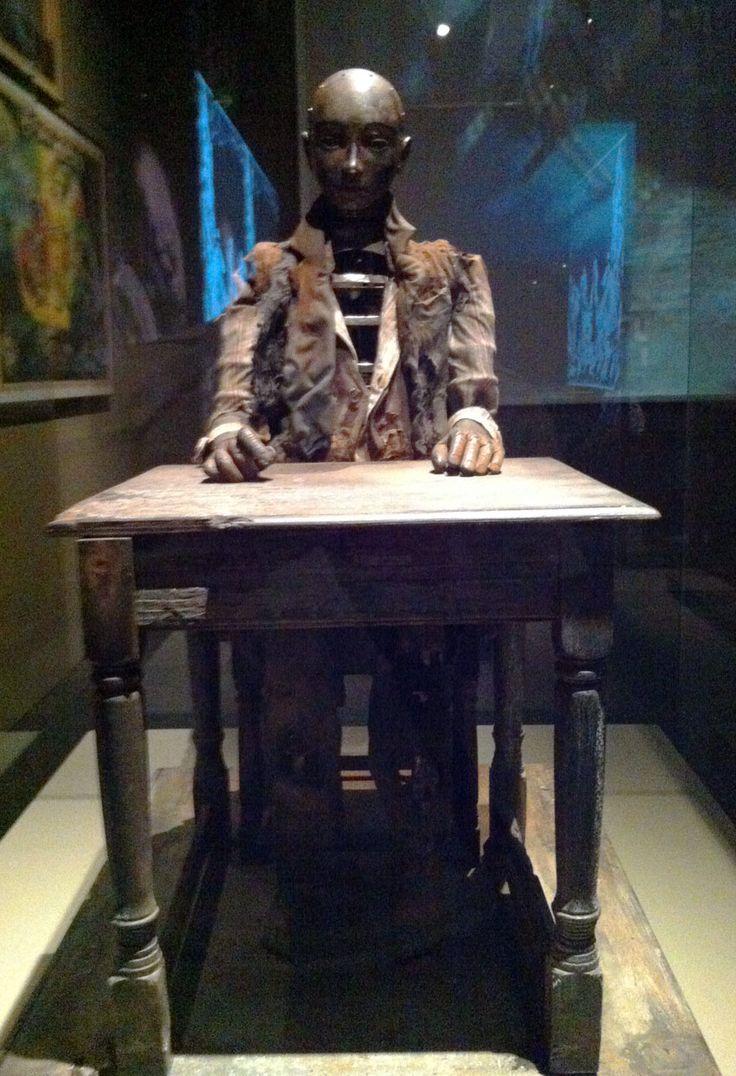 El autómata de la película La Invención de Hugo. Fotografía original de Happynet Comunicación (Exposición de George Meliès, Caixa Fórum Madrid)