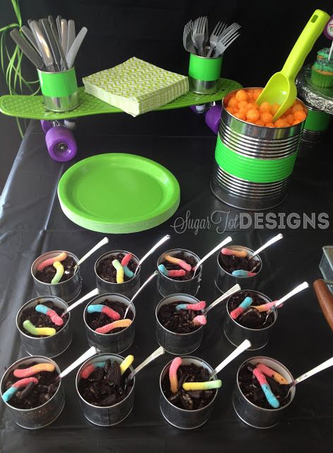Teenage Mutant Ninja Turtle Party- this woman is crazy creative, awesome ideas even if you only use a few of them!