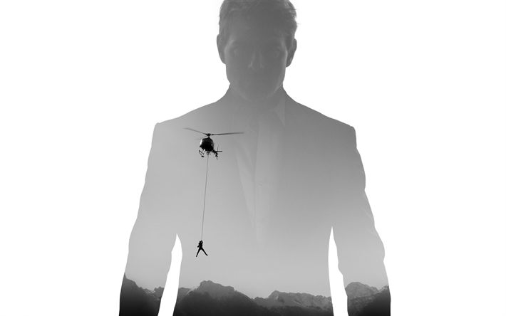 Download wallpapers Mission, Impossible, Fallout, 2018, Tom Cruise, poster, 4k, new movies