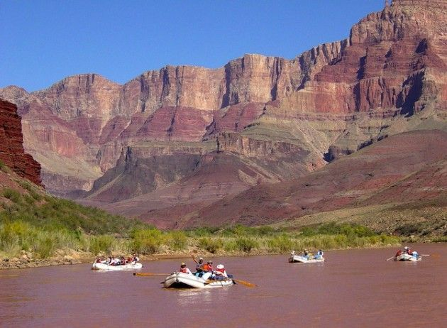 Colorado rivier afvaren
