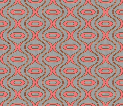 Raindrop Linen Coral Fabric by Holli Zollinger on Spoonflower: Raindrop Linens Cor Fabrics, Coral Fabrics, Fantastic Fabrics, Crafts Fabrics, Fabulous Fabrics, Custom Fabrics, Raindrop Linens Coral Holly, Fabrics Combinations, Contemporary Patterns