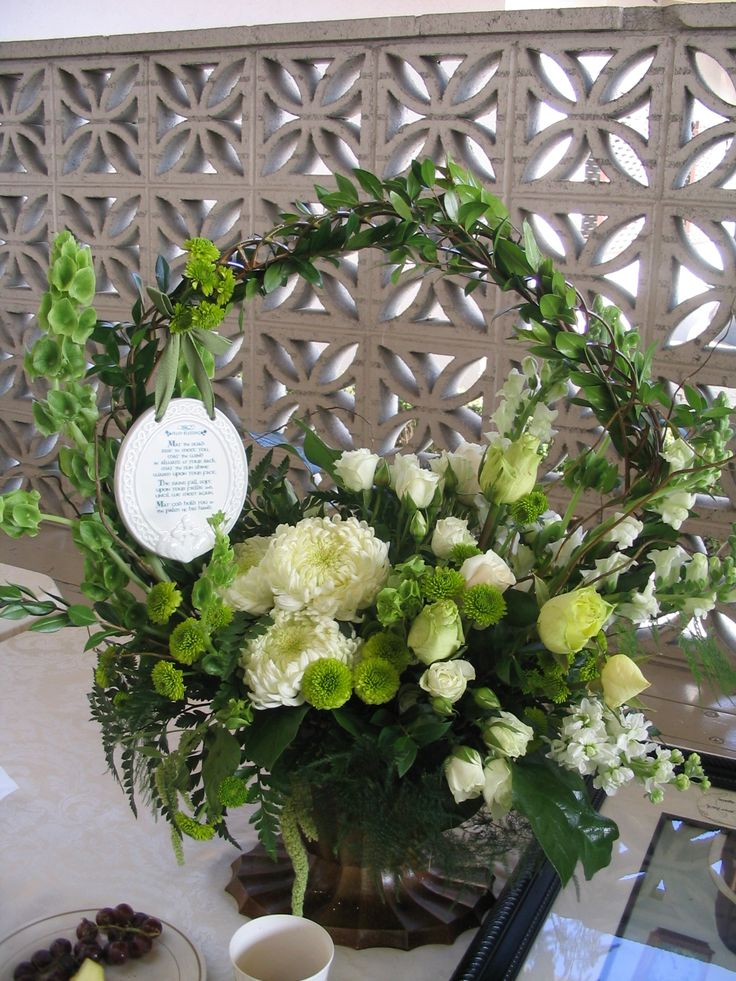 Memorial Flowers Irish Blessing Perfect Irish Wedding Pinterest