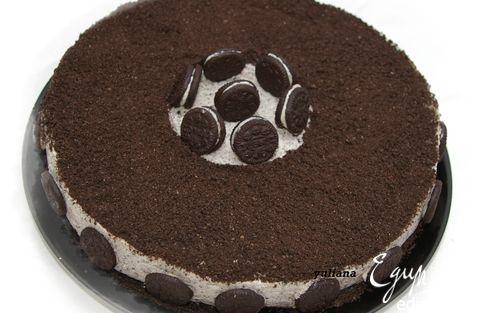 """Торт-мороженое """"Орео"""". Удовольствие для любого времени года! #edimdoma #cookery #recipe #cake"""