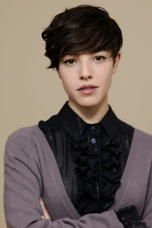 Phenomenal 1000 Images About Tomboy On Pinterest Short Hairstyles For Black Women Fulllsitofus