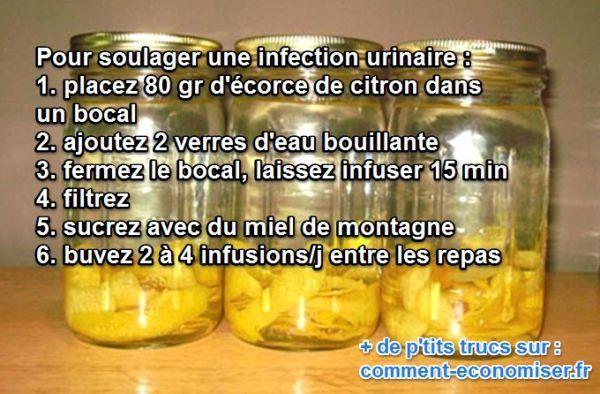 Vous cherchez un remède naturel pour soulager les infections urinaires ? Le citron est LE remède idéal. Découvrez l'astuce ici : http://www.comment-economiser.fr/citron-infections-urinaires.html?utm_content=bufferdf24d&utm_medium=social&utm_source=pinterest.com&utm_campaign=buffer