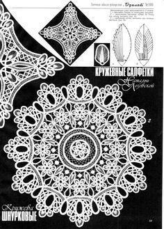 Romanian Point Lace crochet from Duplet magazine issue #100