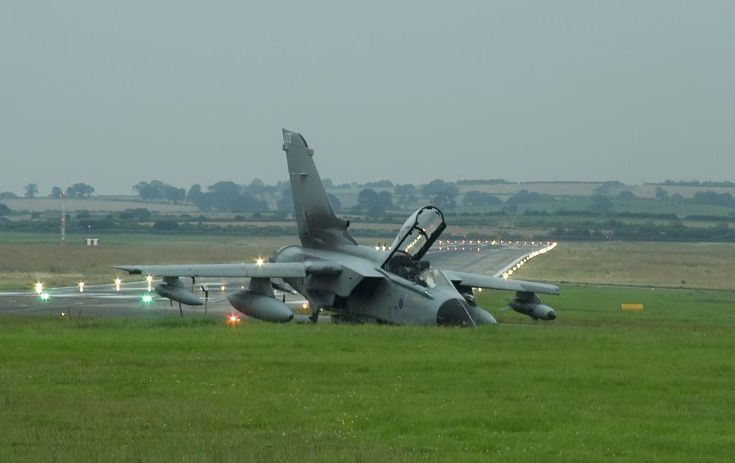 On August 5, 2008, Panavia Tornado GR4A ZA371 was involved in an emergency landing incident at Newcastle Airport following a bird strike.