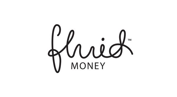 Fluid Money logotype designed by Buddy