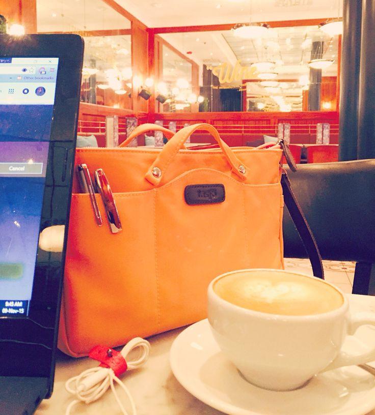 Happy morning with Saimaa Sweet Peach #coffee