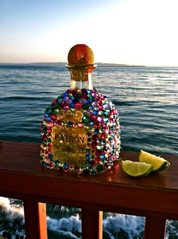 Bedazzled patron what more could you ask for on your birthday
