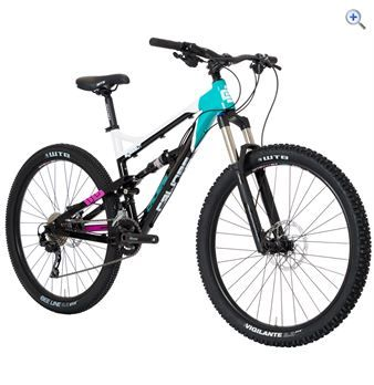 Calibre Bossnut Ladies Mountain Bike - Size: 19 - Colour: Black - White