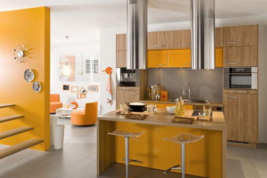 Cuisine ouverte sur salon 20 exemples inspirants cuisine for Exemples cuisines ouvertes