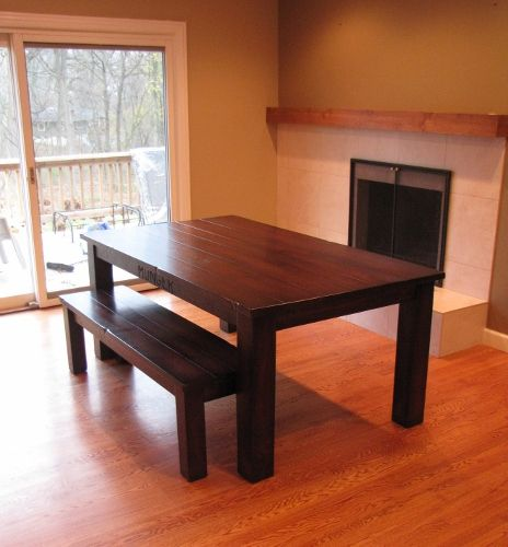 """42""""x72"""" Standard Table With Minimal Overhang, 4.5"""" Legs"""