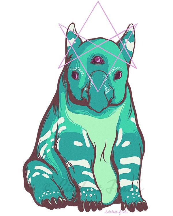 "littlestfinchart:  "" "" Strange Beasts: Tapir 2  Materials: Adobe CC, Adobe Illustrator, Adobe Draw, Adobe Photoshop, iPad. 2016.  ""  Check out more work on Instagram, Facebook, Behance, Twitter, or my Website!  """