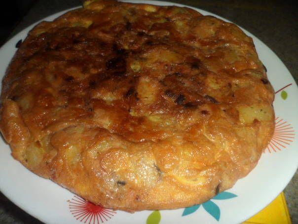 Tortilla de papas y atún