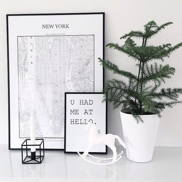 Have a little bit of New york in your home and it will def look fashionable Amazing picture taken by @alexeysse  Visit desenio.se for more city and map posters. #desenio #newyork #map #fashion