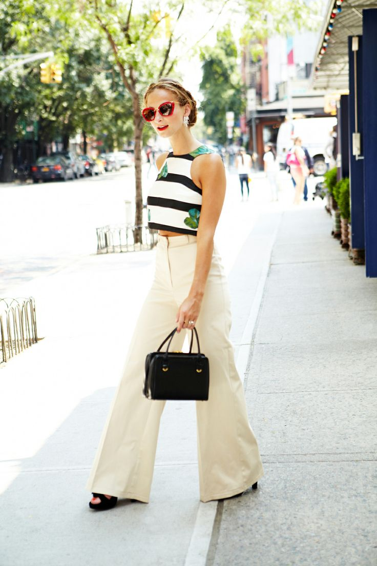 Annie GG...shares my love of wide leg trousers