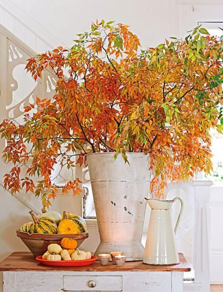 Our easy decorating ideas carry the pleasures of fall into your home.