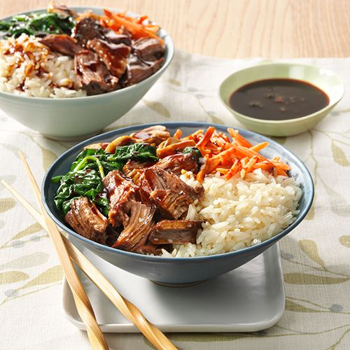 Korean Barbeque Rice Bowl